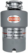 Franke FWD100 1 HP Continuous Feed Waste Disposer with 2800 RPM Magnet Motor
