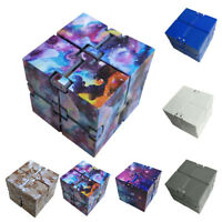 2017 Infinity Cube EDC Mini For Stress Relief Fidget Anti Anxiety Funny Toy Gift