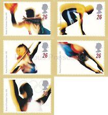 GB POSTCARDS PHQ CARDS NO. 180 MINT FULL SET  1996 OLYMPICS SPORTS SWIFTER