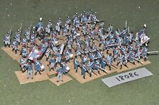 20mm napoleonic / prussian - plastic infantry 72 figs - inf (18086)