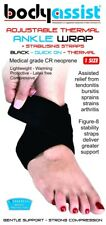 ONE SIZE THERMAL ANKLE WRAP WITH STABILZER STRAPS_BodyAssist