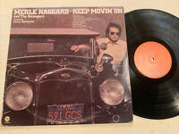 Merle Haggard & The Strangers Keep Movin' On LP Capitol 1st USA Press VG!!!