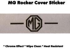 "Classic MG Rocker Cover Sticker Label ""-MG-"" B BGT Midget MGC 1300 Magnette etc"
