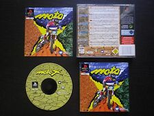 INTERNATIONAL MOTO X : JEU Sony PLAYSTATION PS1 PS2 (courses COMPLET SLES-00099)