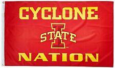 Iowa State Cyclones Nation Premium 3x5 Flag w/grommets Outdoor Banner University