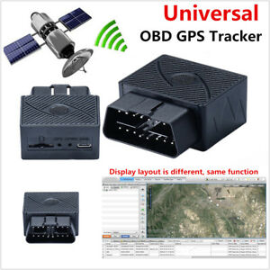 Car Vehicle Truck GPS GSM GPRS Tracker Mini OBDII OBD2 Real Time Tracking Device
