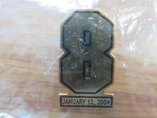 "Rare Usher's CAM NEELY Retirement #8 Jan 12 2004 BOSTON BRUINS 1.25"" Pin"