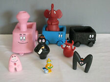 Lot de Figurines BARBAPAPA + Petit Train