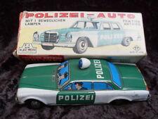 Polizei Mercedes mit Original Schachtel  Japan Friktion
