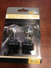 Turn Signal Light Bulb-Long Life Pack TWIN Rear/Front SYLVANIA 3057LL.BP2