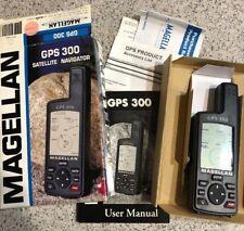 Magellan GPS 300 Satellite Navigator AA Batteries 1999