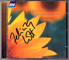 Felicity LOTT Signed SUMMERTIME Gershwin Barber Elgar Faure Quilter Arne Rutter