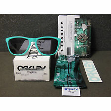 New Oakley Frogskins Sunglasses Seafoam/Grey Retro Heritage Collection White
