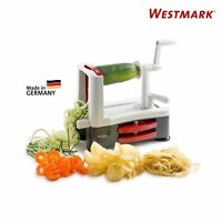 New Westmark Germany Spiralizer Vegetable Slicer Veggie Spaghetti Noodle Maker