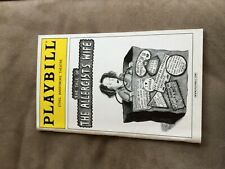 THE TALE OF THE ALLERGIST'S WIFE MAY 2001 playbill