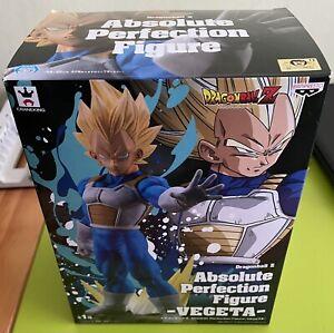 Banpresto Dragon Ball  Z Absolute Perfection Figure Vegeta Ssj Super Saiyan