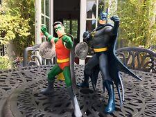 "BATMAN & ROBIN 12"" CLASSIC FIGURES WARNER BROS WARNER BROS EXCLUSIVES C1995"