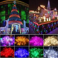 100-200 LED Fairy String Christmas Tree Party Lights Lamp Xmas Decor Waterproof
