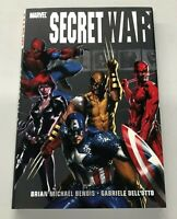 Marvel Secret War HC Graphic Novel Hardcover Bendis