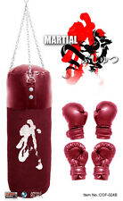 """Crazy Owners Free Fighter Martial Arts Set (Red) 1/6 Scale 12"""" COF-024B"""