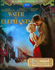 Water for Elephants (Blu-ray Disc, 2011, 2-Disc Set) FREE SHIPPING!
