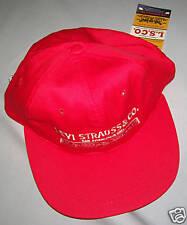 LEVIS Cappello Visiera Levi's Strauss Berretto Rosso