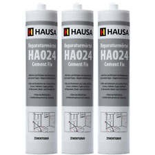 3 x 310 ml Express Zement Reparaturmo?rtel Cement Fix Fugenmörtel Rißacryl