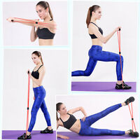 1PC 8 Word Fitness Rope Resistance Bands for  Elastic Band Fitness ExpanderJ zc