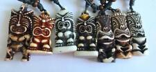 12 pcs Faux Tiki Head Handmade Fashion Pendant Style Necklace