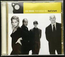 ALBUM CD Lisa Ekdahl, Back to earth Peter Nordahl trio 1988 BMG
