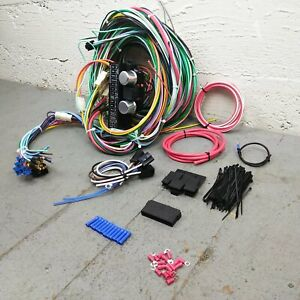 1960 - 1976 Plymouth Duster Scamp Valiant Wire Harness Upgrade Kit fits painless