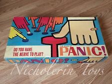 1965 Vintage IDEAL Family Board Game ~ The Game Of PANIC!