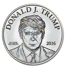 Donald Trump 1 oz .999 Pure Silver Coin Make America Great Again