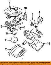 jaguar oem 92-96 xjs abs anti-lock brakes-relay dac4506 (fits: jaguar xjs)