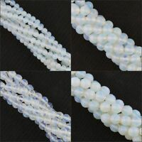 "Opalite Round Ball Faceted Spacer Loose Beads Gemstone 15"" 4mm 6mm 8mm 10mm"
