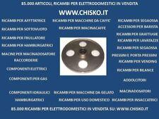 PULEGGIA INOX SUPERIORE COMPLETA PER SEGAOSSA CEG MOD. SG400 DIA. est. 350 mm
