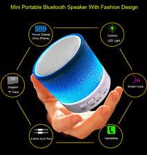 Altavoz Bluetooth Portátil Mini LED de altavoz inalámbrico con bajos Tf Radio USB nos Lote