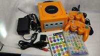 Nintendo GameCube Launch Edition Spice Orange Console