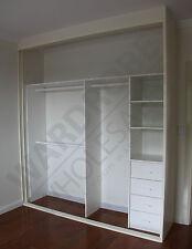 2 door DIY sliding built in wardrobes - customised to your needs!
