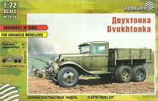 "Zebrano 1/72 (20mm) GAZ-AAA ""Dvukhtonka"" Soviet Cargo Truck"