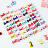 20 10 pcs Mini Bow Hairpins Hair Barrette Kids Cute Baby Girl Headwear Hair Clip