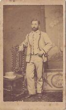Photographie Américaine Toulouse Photo cdv Vintage albumine ca 1865
