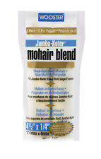 Wooster  Mohair Blend  Paint Roller Cover  1/4 in. L x 4-1/2 in. W 2 pk
