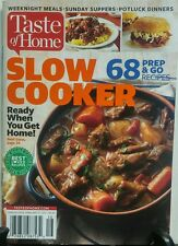 Taste of Home Slow Cooker 68 Prep & Go Recipes Beef Stew FREE SHIPPING sb