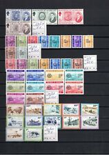 1969/1982 GUERNSY, all complete sets with postage due stamps, cat.val Mi=170.00€