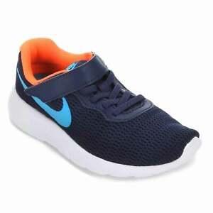 Scarpe Nike Tanjun  bambino  sport strappo leggere blu arancio azzurro