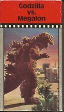 Godzilla vs. Megalon '73 VHS Tape