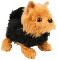 NEW WALK ALONG SAMMY FLUFFY PUPPY GIFT TOY PUP KIDS FUN TALKING DOG CUTE XMAS