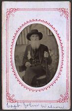 American Civil War Veteran Captain John Wilson 7x5 Inch Reprint Photo Portrait