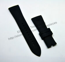 Comp. Emporio Armani AR4237 AR4238 AR4239 - 24mm Black Rubber Watch Band / Strap